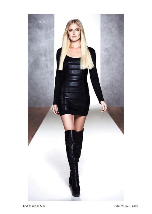elbise modelleri 2014 kış Lamazone
